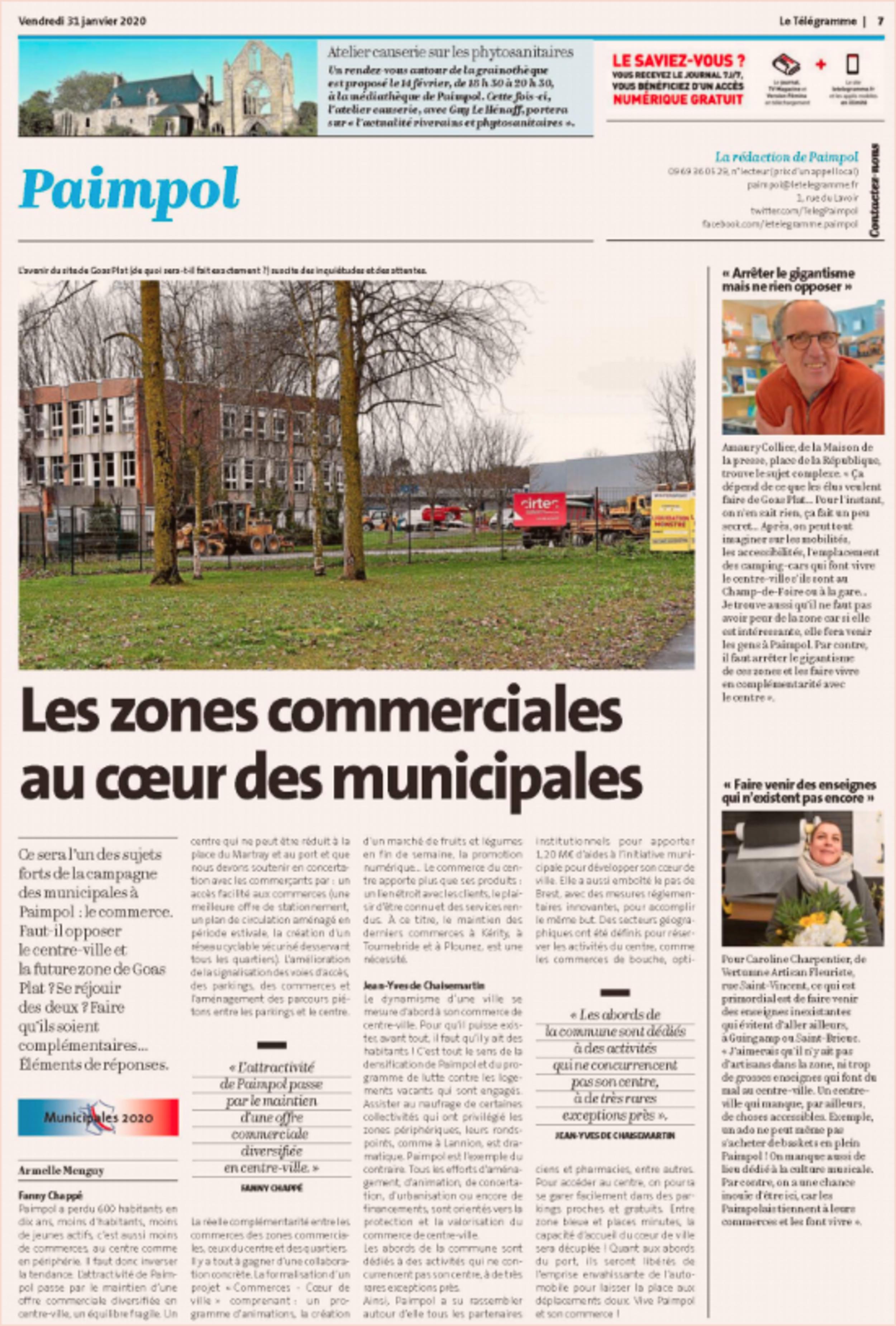 Les zones commerciales au cœur des municipales